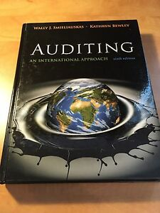Auditing an International Approach (6th edition)