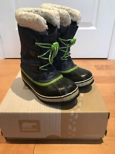 KIDS SIZE 2 Sorel Kids' Yoot Pac Nylon Winter Boots