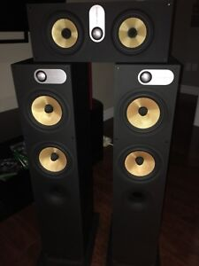Bowers Wilkins Audiophile Towers and Center