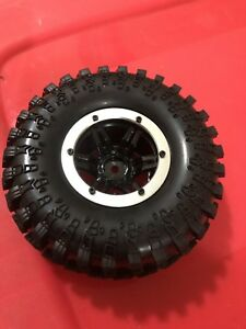RC crawler inflatable tires and