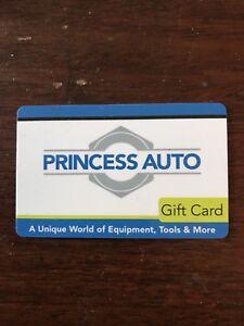 Trade- $25 Princess Auto gift card