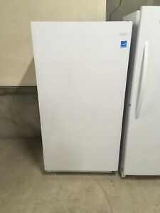 Brand new frost free frigidaire stand up freezer
