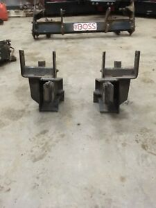 Fisher plow brackets ford and chev