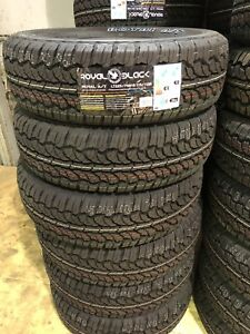 4 NEW LT225/75/R16 SUMMER TIRES