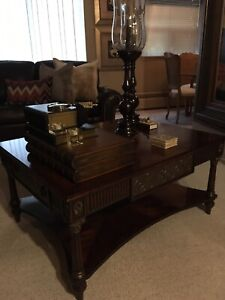 Theodore Alexander coffee table price is negotiable