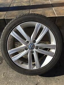 "Brand New 17"" VW Alloy Rims"