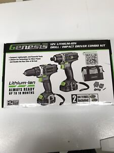 Genesis Drill and Impact Driver