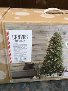 Canvas Holiday Tree