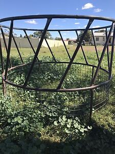 Round hay bale feeder Oakey Toowoomba Surrounds Preview