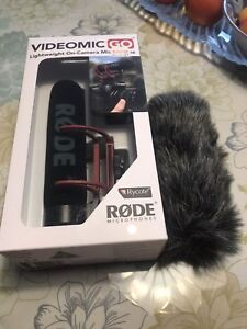 Rode mic and wind sock