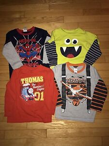 Lot of Boys size 3T and 4T clothing