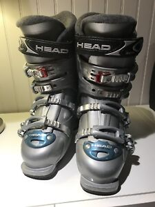 Ladies downhill ski boots for sale.