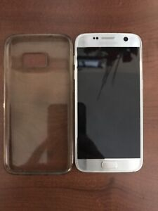 Samsung Galaxy S7 Unlocked Silver Used 5 Months Only