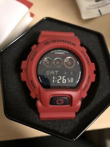 Brand new Gshock 6900RD Burning Red Solar power limited edition