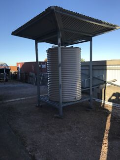 2300 litre tank and tank stand for sale
