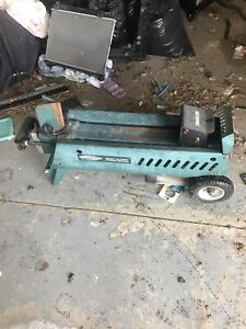 Electric log splitter 6.5 ton