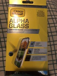 Otter box alpha glass for iPhone 8,7 and 6 plus