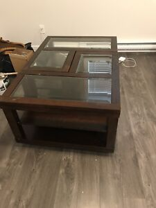 Separating coffee table