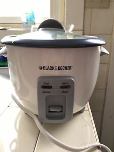 Black and Decker Rice and Veggie cooker