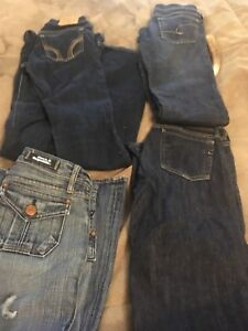 Woman's jeans-9 pairs total