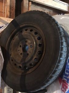 225/65R16 Winter Tires and Steel Rims