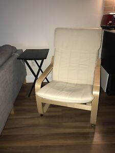 IKEA Chair and Side Table For SALE