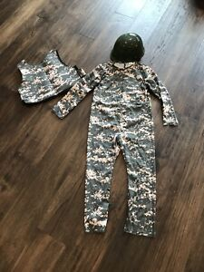 3 PC Army Costume Size 4-6
