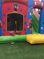 Paw patrol bouncy house for rent
