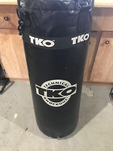 Heavy bag and speed bag