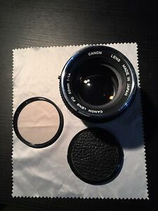 Canon FD 50mm f/1.4 + FD-NEX for Sony E-Mount