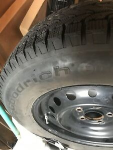 Goodrich snow tires and rims
