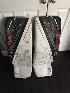 Bauer 1x goal pads size Large (35+1)