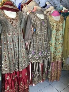 Pakistani bridal, wedding and party dresses..