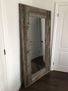 Custom Barn Board (reclaimed wood) Mirrors