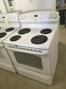 1 year old GE coil top stove