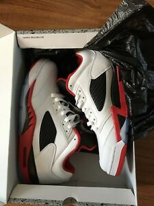 Jordan 5 Fire Red 10.5 DS