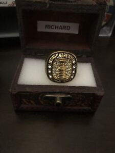 Bague coupe Stanley Maurice Richard
