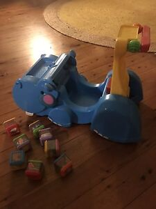 Hippo Walker and ride on toy Fisher Price Leichhardt Leichhardt Area Preview