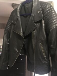 Exclusively for Aritzia black Leather Mackage Kasie jacket