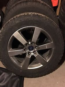 "FORD F150 SPORT 20"" WHEELS & TIRES SET"