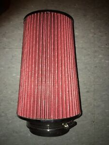 High intake air filter