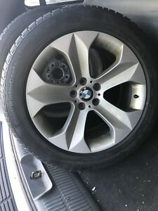 """Original BMW 19"""" Rims with Continental Tires 255/50R19"""