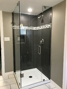SHOWER GLASS DOORS ENCLOSURES MIRRORS OFFICE partitions shelving