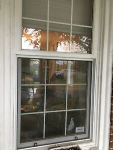 5 or 6 Large wooden casement windows. 1 smaller one