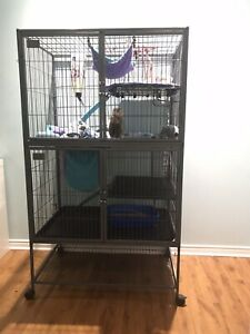 Ferret nation cage / Cage pour animaux