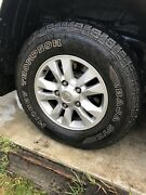 200 series Landcruiser gxl rims and Mickey Thompson's tyres Carina Brisbane South East Preview