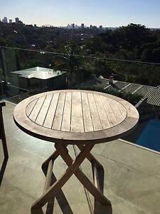 BARGAIN TEAK OUTDOOR TABLE (RRP$1,385) Woollahra Eastern Suburbs Preview