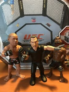 UFC Figures & Ring Lot : ONLY $10 for All!