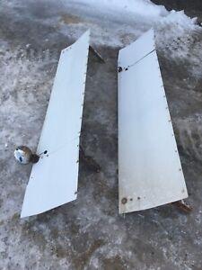 Kenworth bunk extensions , sleeper fairings