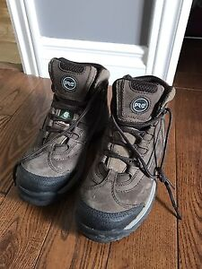 Steel toed women's Timberland boots